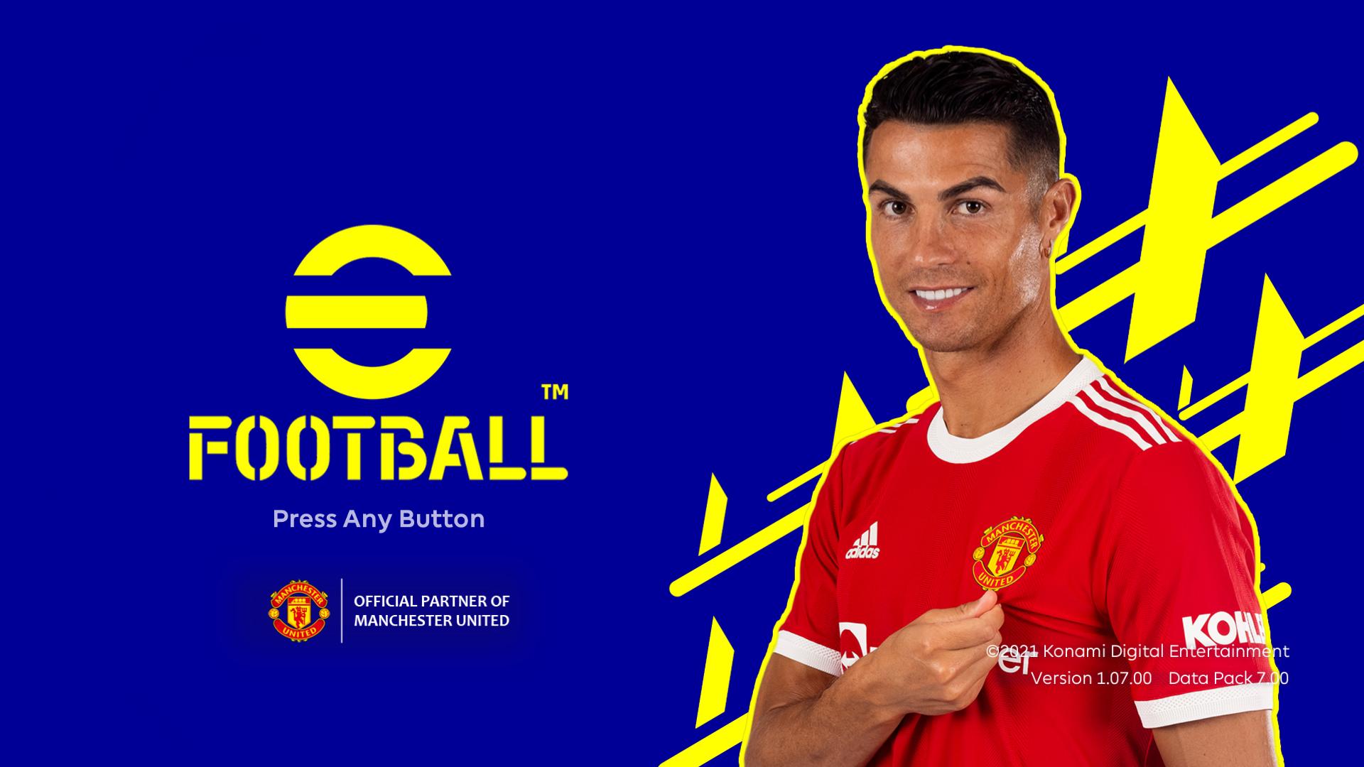 eFootball 2022 Theme Menu for PES 2021
