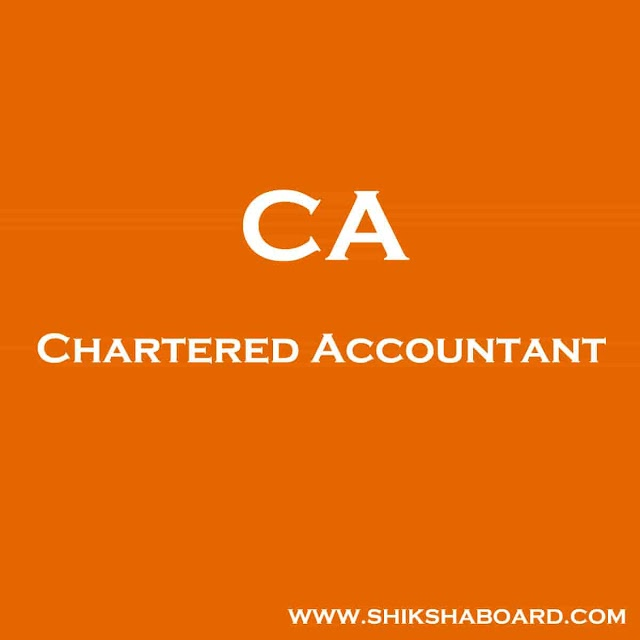 Full Form of CA: How to Become a CA?