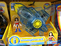 Mattel Imaginext Wonder Woman Toy Line Invisible Jet