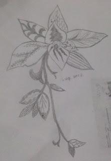 foto batik motif bunga
