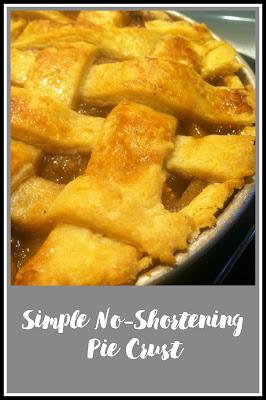 shortening free pie crust