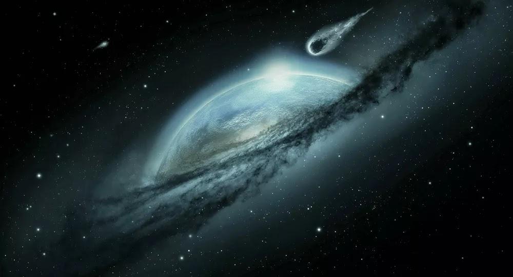 SCI-TECH - En image «Un énorme flash blanc» : une météorite a illuminé le ciel de FranceRTICLE . . . .