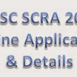 SCRA 2015 Apply Online, Eligibility, Fee, Syllabus and Dates,   | The Uttarakhand Portal-No. 1 News Portal for Jobs, Results and Educational Updates in Uttarakhand
