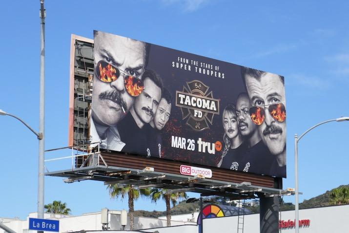 Tacoma FD season 2 billboard