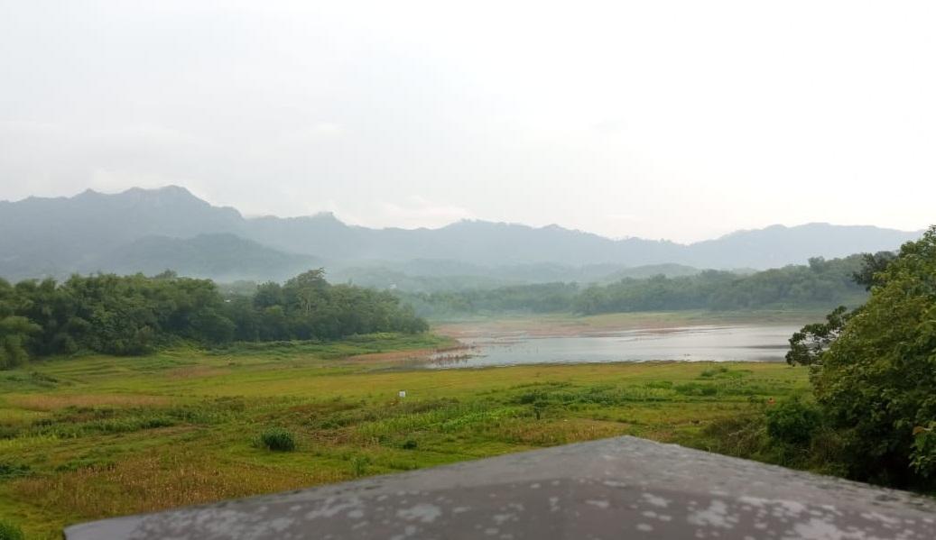 view dari Wedangan mantep Joglo Tandon
