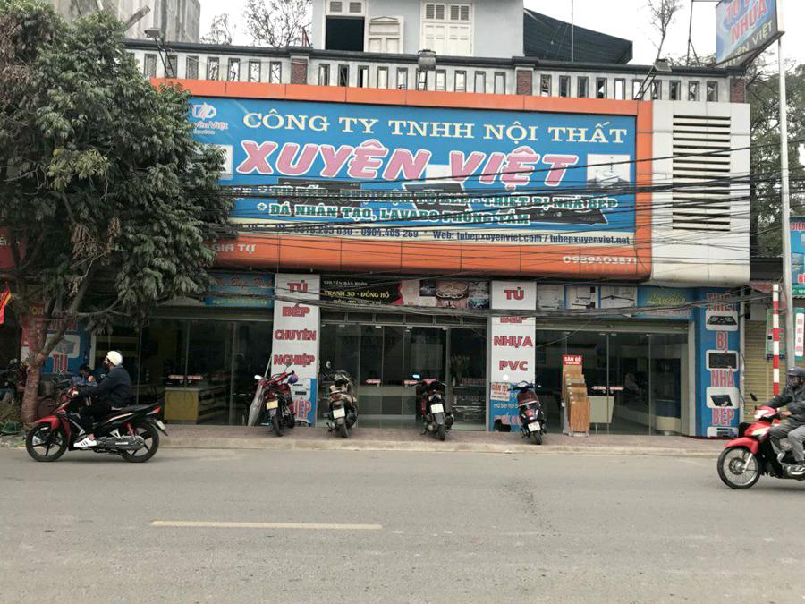 Tủ bếp nhựa xuyên Việt 159 Ngô Gia Tự, Hải Phòng