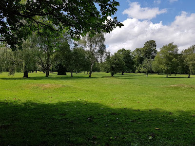 Pitch & Putt course at Wythenshawe Park in Manchester. 21st June 2020.