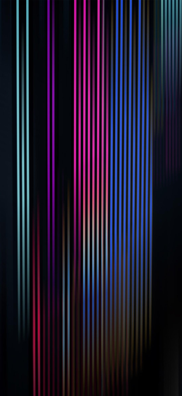 خلفية خطوط طويلة بألوان داكنة أنيقة