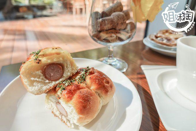 優質卻平價的貴婦早午餐下午茶,手作麵包無敵好吃-玫瑰烘焙坊