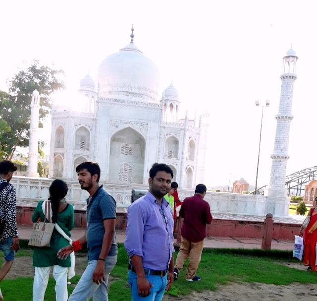 Taj Mahal Agra - Seven Wonders Park kota
