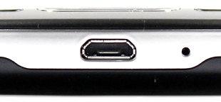 Exemplo aparelho com porta micro USB