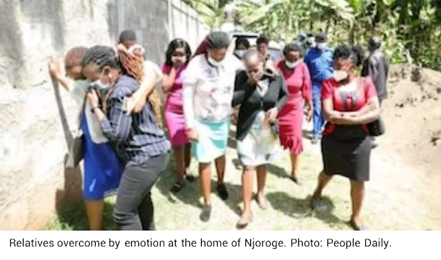 Five family members Killed in Kenya 10days after husband returned from Abroad to celebrate Christmas and New year