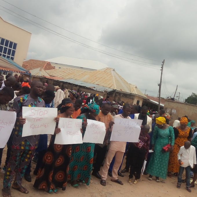 Insecurity: Taraba Baptist Conference Youths Protests Killing Of Members, Nigerians