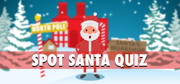 spot santa quiz updated question answers 100% score
