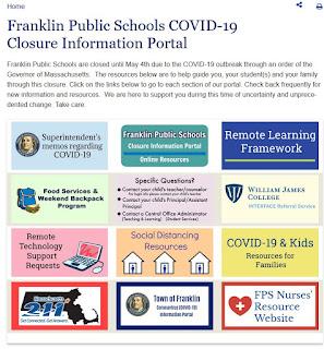 Franklin Public Schools portal