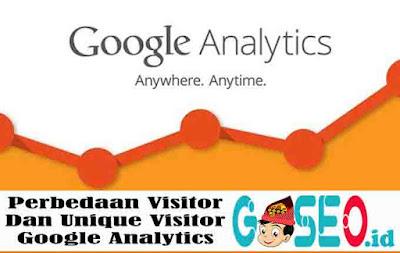 Perbedaan Visitor dan Unique Visitor Google Analytics