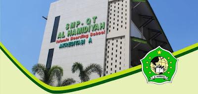 OPEN RECRUITMENT PENDIDIK PONDOK [SMPQT/SMAQT AL HAMIDIYAH PATI] Assalamualaikum Wr.Wb Alhamdulillah, pada kesempatan kali ini, SMP Al Quran Terpadu Al Hamidiyah membuka peluang untuk bergabung menjadi pendidik SMP Al Quran Terpadu Al Hamidiyah [SMPQT/SMAQT Al Hamidiyah] Formasi Pendidik yang dibutuhkan  1. Guru Matematika  2. Guru Fisika