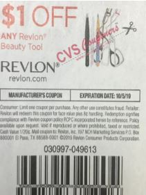 "$1.00/1 Revlon Beauty Tool Coupon from ""SMARTSOURCE"" insert week of 7/28 (EXP:10/5)."