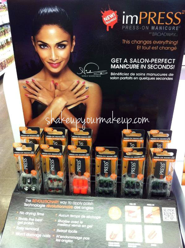 Spotted at Walgreens: ImPRESS Halloween Press on Nails by ...