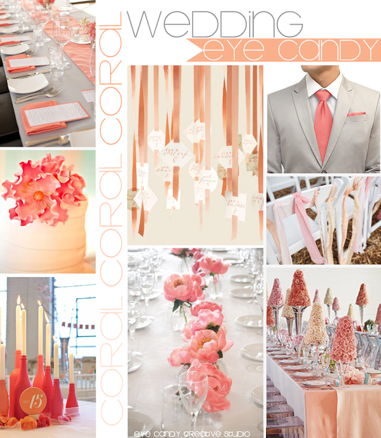 coral wedding, wedding ideas, wedding decor, coral tablescape ideas