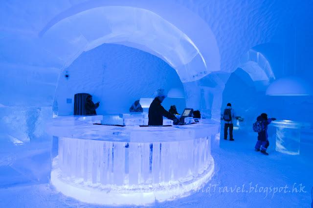 瑞典, 冰酒店, Icehotel, Icebar