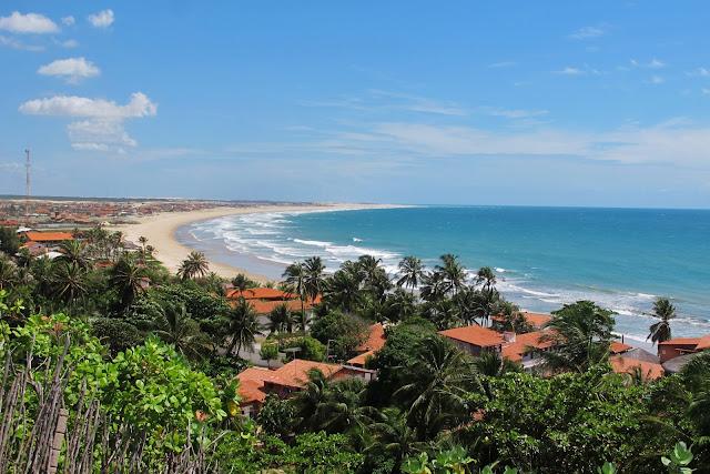 Pela Rota das Emoções, na Praia de Taíba, no Ceará.