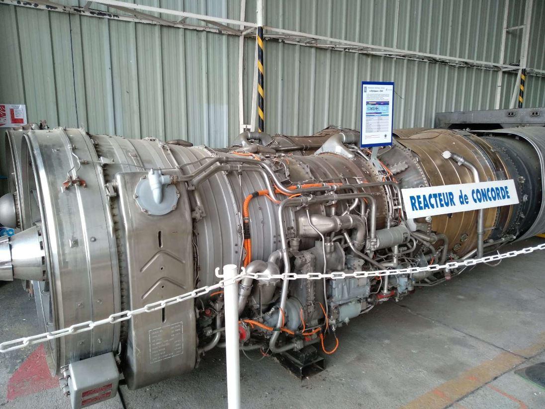 réacteur concorde