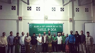 Harla GP Ansor Ke-87 : Momentum Kebangkitan Spirit Ansor Bone Bolango