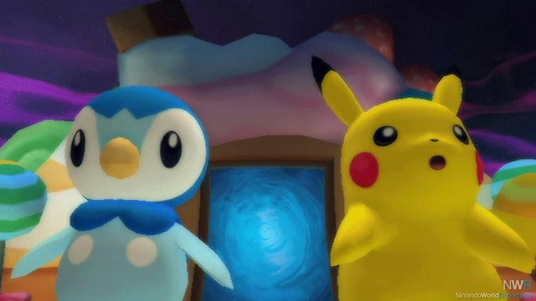 Pikachu e Piplup Poké Park 2