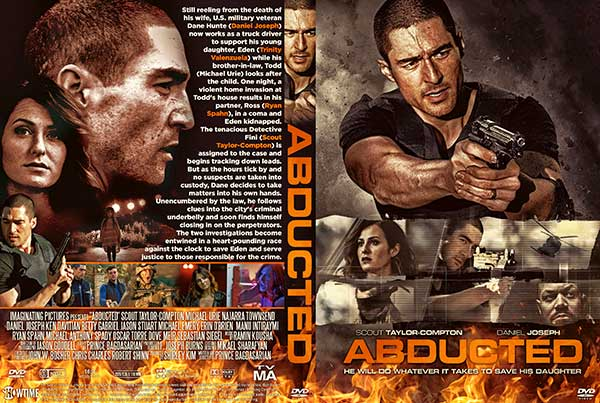 Abducted (2020) DVD Cover