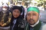 Datangi DPRD Kabupaten Bandung, FKMKB: Bebaskan Habib Rizieq, Audit Dana Haji!