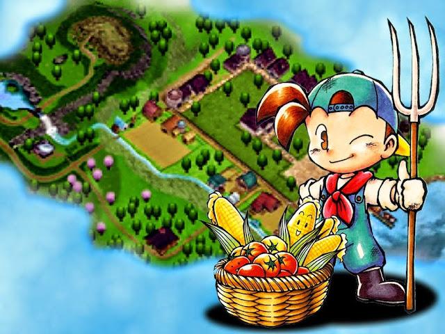 Semua Tentang Bibit Tanaman di Harvest Moon: Back to Nature