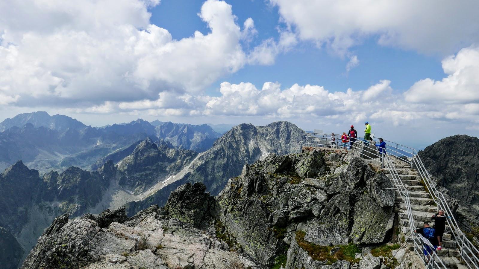 Tatry Łomnica szczyt