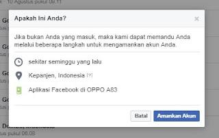 Mengetahui FB Dibobol, Dibajak