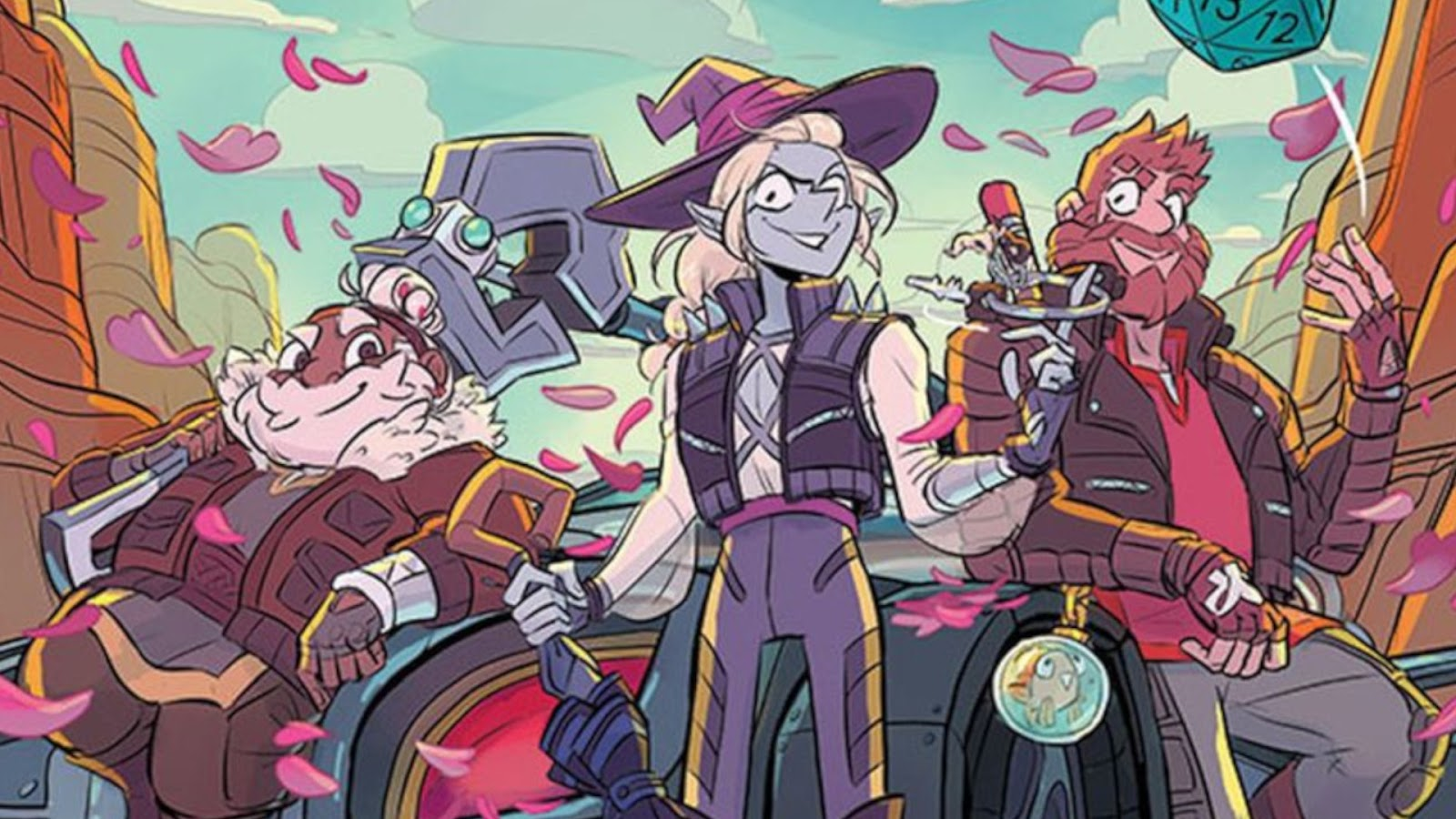 Board Game News Collider Adventure Zone Animated Series Announced for NBC Peacock