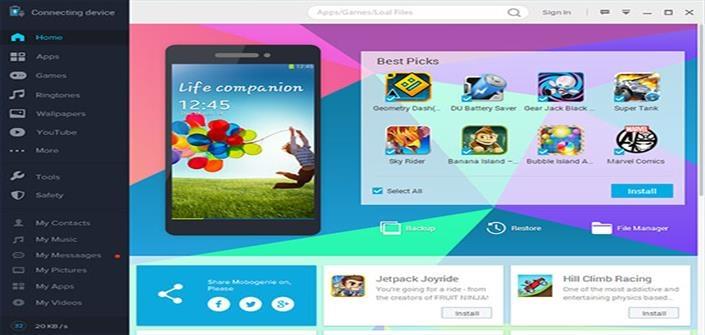 cc73aa3c2 تحميل برنامج موبوجيني Mobogenie Market للكمبيوتر والموبايل - مع دقات ...