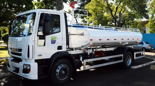 Município de Iretama é beneficiado com um caminhão zero Km