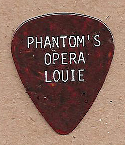Lou Russomanno personalized guitar pick