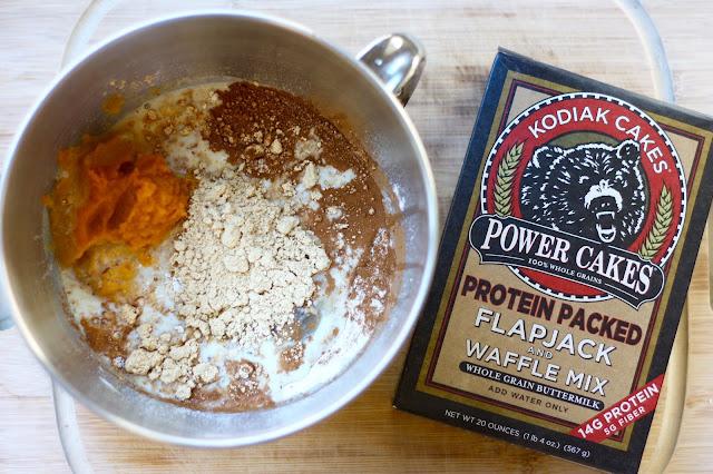 Pumpkin Protein Muffins!
