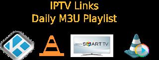 Free Daily M3U Playlist 9 December 2017