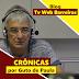 CRÔNICA DE GUTO DE PAULA: A INFLUÊNICA DAS CHUVAS.