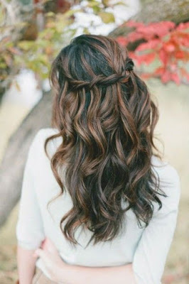 water fall hairstyle