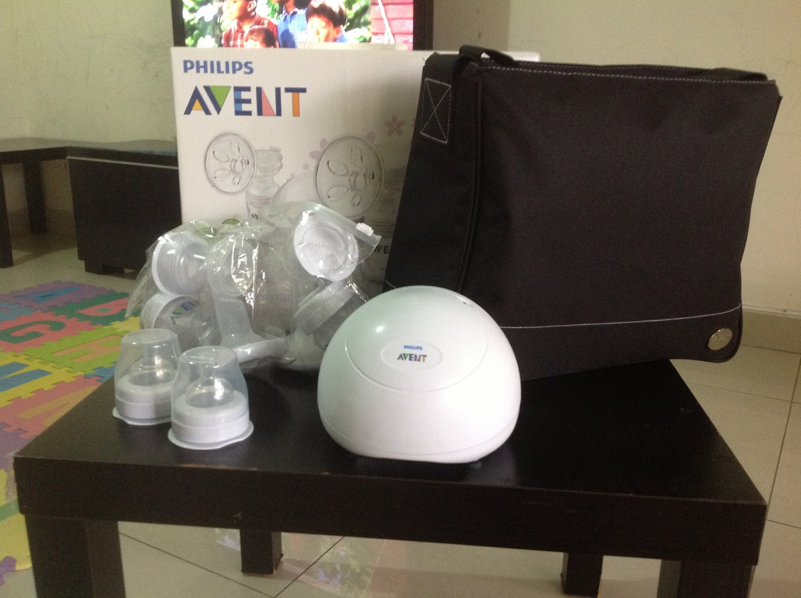 Philips avent breast pump sale