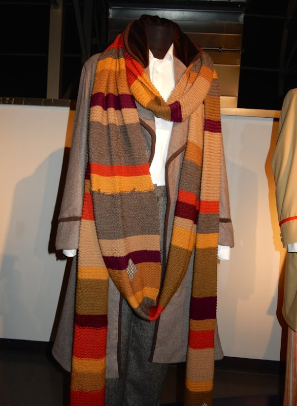 Tom Baker Fourth Doctor Who costume