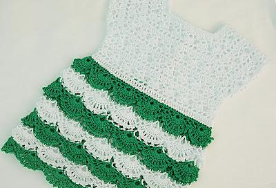 6 - Crochet Imagen Falda para canesú a crochet y ganchillo por Majovel Crochet