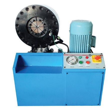 Horizontal Hose Crimping Machine GIDC Gujarat India