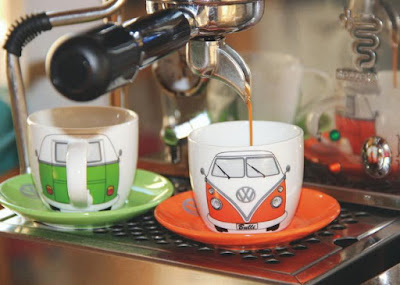 VW Bus Espresso Cup Set