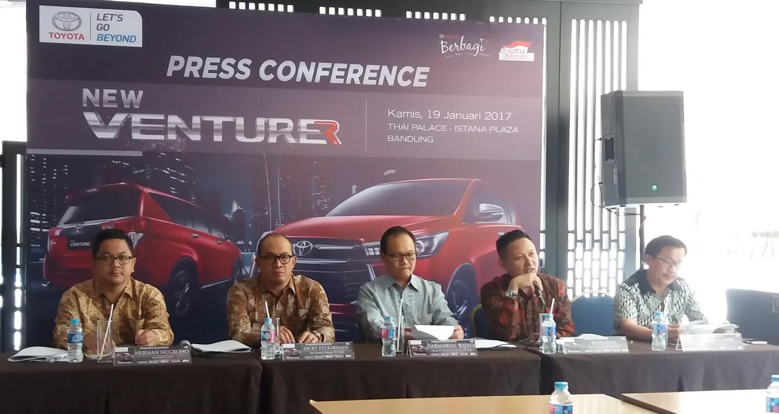 Perbedaan New Innova Dan Venturer Harga All Kijang 2016 Type G Jawab Kebutuhan Konsumen Toyota Luncurkan
