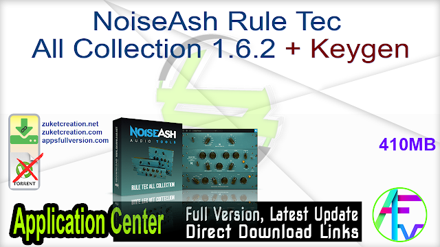 NoiseAsh Rule Tec All Collection 1.6.2 + Keygen
