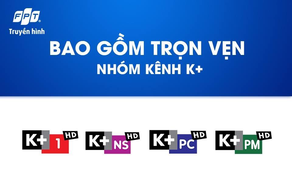 Xem bóng đá tv trên các kênh thể thao của K+ với FPT Play